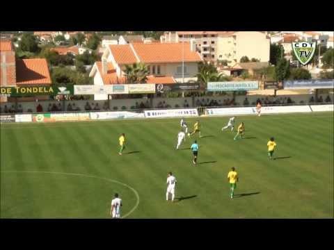 Tondela 5-1 Torres Novas (Ta�a de Portugal - 2.� Eliminat�ria)