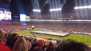 National anthem  2017.. College football championship
