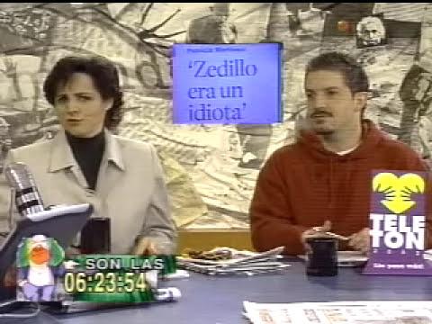 Brozo vs Patricio Martinez hablando mal de Zedillo
