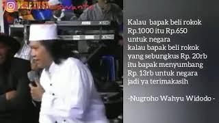 TANGGAPAN CAK NUN MASALAH ROKOK DI INDONESIA