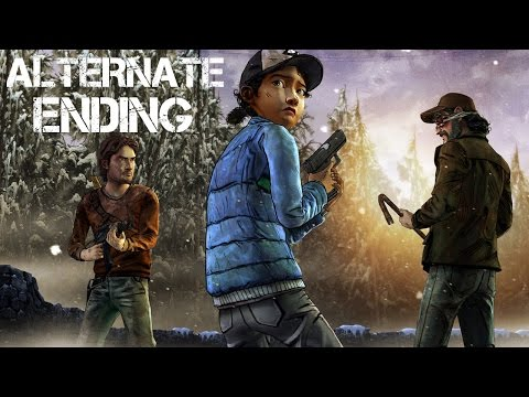 The Walking Dead Game Season 2 Episode 4 - Alternate Choices Ending video