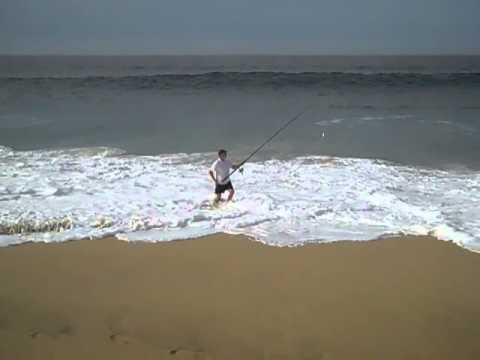 Surf fishing cabo san lucas with john blonskij youtube for Surf fishing san diego