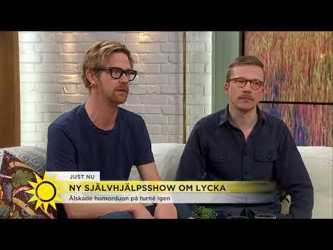"""Humorduon: """"Man blir olycklig över att tro att man måste vara lycklig"""" - Nyhetsmorgon (TV4"""
