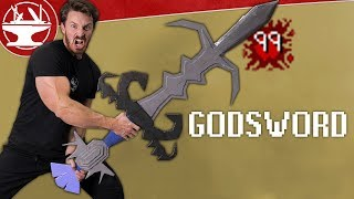 Old School RuneScape GODSWORD in real life!