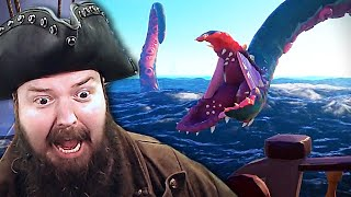 RELEASE THE KRAKEN! (Sea of Thieves Highlights #8) Ft. BikeMan, CohhCarnage, and Sacriel