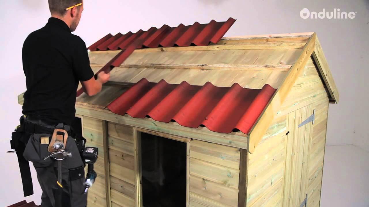 Come posare le tegole onduvilla inglese youtube for Montaggio tetto in legno ventilato