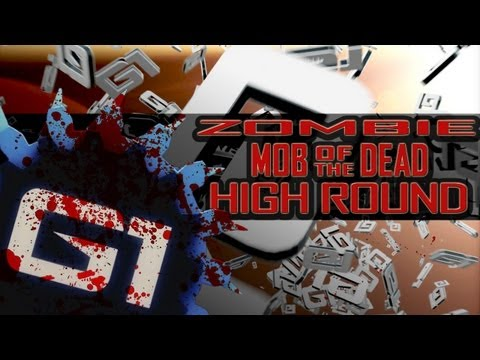 BO2 ZOMBIE MOB OF THE DEAD GLITCH HIGH ROUND - GERMAN PS3/XBOX360