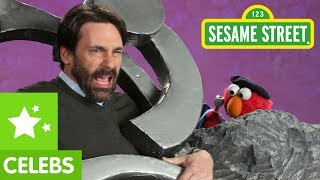 Sesame Street: Jon Hamm and Elmo - Sculpture - 1080p HD