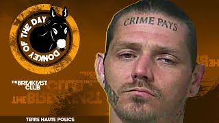 Indiana Police Looking For Man With 'Crime Pays' Tattoo On His Forehead