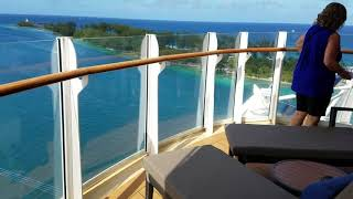 Aqua Theater Suite 1 Bedroom cabin 12734  on Symphony of the Seas