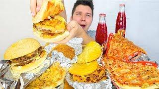Fast Food Challenge • MUKBANG