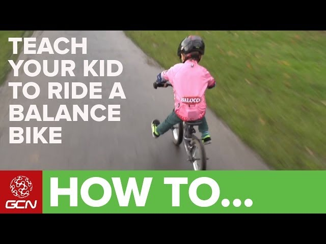 Teach Your Kid To Ride A Bike - How To Ride A Balance Bike