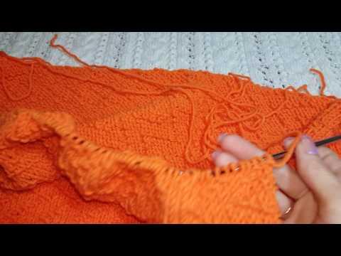 Видеоурок по вязанию кардигана спицами для начинающих