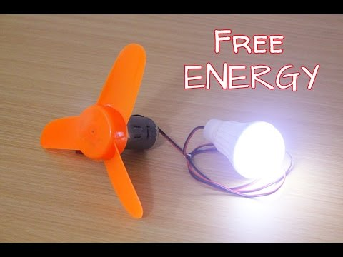 How To Make A FreeEnergy Air Generator At Home - Free Energy