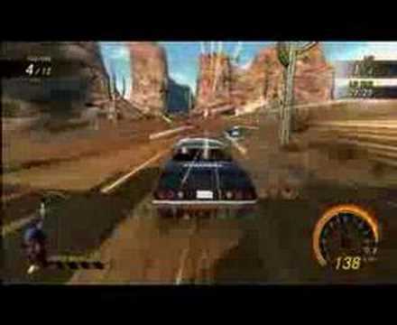Flatout Ultimate Carnage - Desert Race gameplay trailer