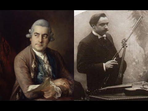 J.C. Bach/Casadesus - Viola concerto in Cminor (full concert)