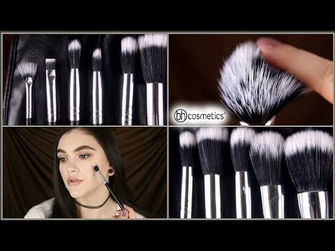 BH Cosmetics Dual Fiber Brush Set Review & Demo!