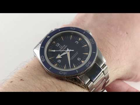 Omega Seamaster 300m Master Co-Axial 233.90.41.21.03.001 Luxury Watch Review