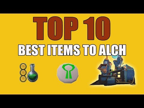 [Runescape 3] Top 10 Best Items to High Alch 2018