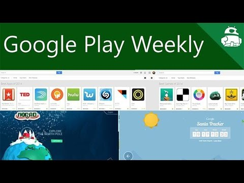 Google and Microsoft duke it out over Santa, Google picks their best apps - Google Play Weekly