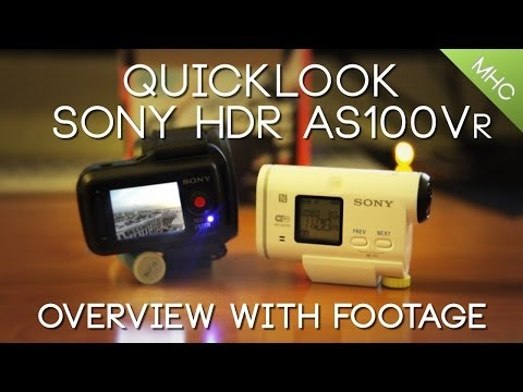 Quicklook Sony HDR-AS100VR