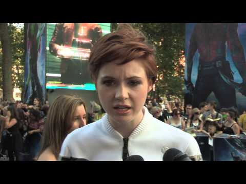 Guardians of the Galaxy - European Premiere interview with Karen Gillan aka Nebula