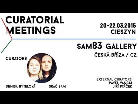 Curatorial Meetings / sam83 gallery 14 // CZ