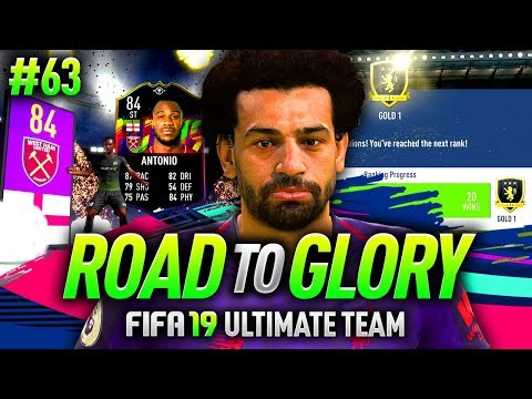 FIFA 19 ROAD TO GLORY #63 - MY NEW STRIKER!!