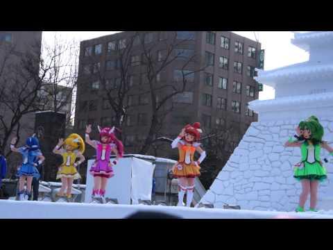 札幌雪まつり ダンスレッスン