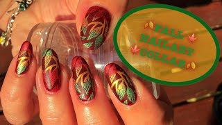 *DEUTSCH*🍃🍂Herbst  Nailart Group Collab🍃🍂 - wöchtenliche Maniküre