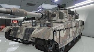 Gta 5 Online - FR - Comment avoir et mettre le Tank dans son garage - Qui a dit que c'était facile
