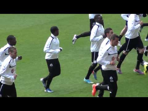 Hatem Ben Arfa Newcastle United Training Session Pre Liverpool Game (0-6)