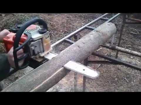 Как сделать пилораму из бензопилы штиль