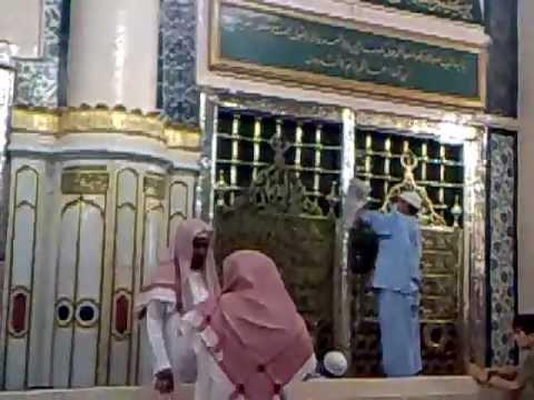 holy grave of prophet muhammad sallallahu alayhi wa sallam
