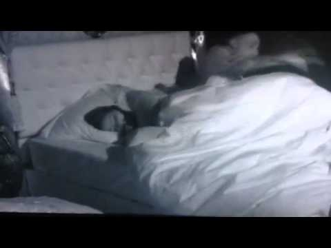 Dappy and Jasmine Waltz in bed on Celebrity Big Brother