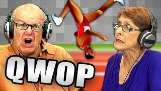 QWOP (Elders React: Gaming)