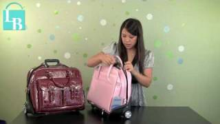McKlein Willowbrook Detachable Wheeled Laptop Briefcase Review