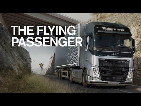 Volvo Trucks - The Flying Passenger (Live Test)