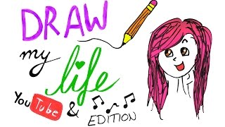 Download Lagu DRAW MY LIFE - Youtube & Musik Edition - Alycia Marie Gratis STAFABAND