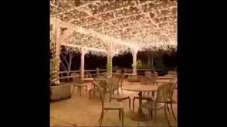 Christmas tree decoration lights