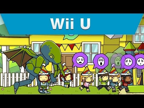 Wii U – Scribblenauts Unlimited Objects Editor Trailer