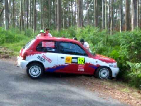 Accidente Rally Naron 2009 Nissan Micra