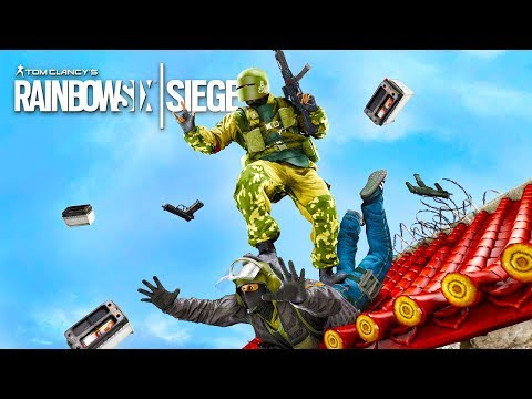 RAINBOW SIX SIEGE FAILS: #12 (Rainbow Six Siege Random Moments Compilation)