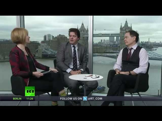 Keiser Report: Ruble's Baptism by Fire (E695)