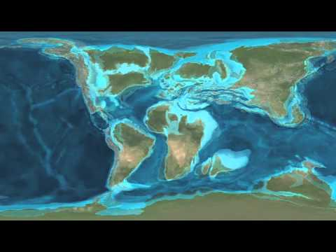 La deriva dei continenti: ieri, oggi, domani.