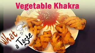 Vegetable Khakra Recipe || What A Taste || Vanitha TV