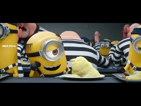 Despicable Me 3  2017 - Minions In Jail  Funny Scene