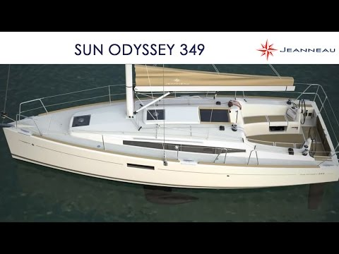 Sun Odyssey 349 sailboat by Jeanneau