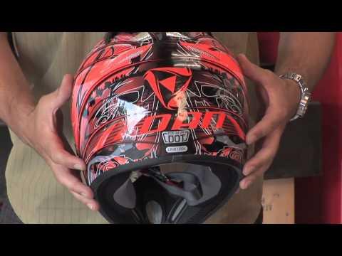 Zoan MX1 Plague snowmobile helmet