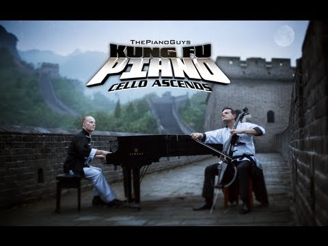 Kung Fu Piano: Cello Ascends - Thepianoguys video
